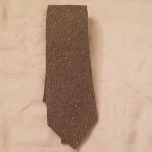 Armani collection mens silk tie - green